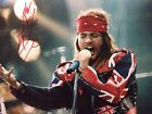 AXL ROSE FULL SIGNATURE!!!HAND SIGNED 8 By 10 WITH COA!BUY IT NOW!!!