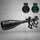 6 24x50AOEG Hunting Rifle Scope Red Green Rangefinder illuminated Optical Gun