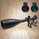 New 6 24x50AOEG Red  Green Mil Dot Illuminated Optics Hunting Rifle Scope