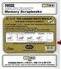 12 Packs of Pioneer 8-1/2x11 White Memory Book Refill RW-85 RW85