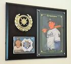 BILLY BUTLER CARDS & RARE 5X7 AUTOGRAPH WALL ART DISPLAYED ON A 9X12 PLAQUE
