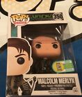SDCC 2016 EXCLUSIVE FUNKO POP TELEVISION ARROW MALCOLM MERLYN LIMITED EDITION