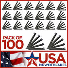 100 Pack USA Mower Bladesreg 24 13 32 x 3 x 0240 5 8 Center Hole Commer