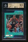 1997-98 SP AUTHENTIC TIM DUNCAN RC GOLD PROFILES III PARALLEL #26 100 BGS 9.5