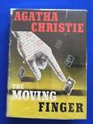 THE MOVING FINGER FIRST AMERICAN EDITION BY AGATHA CHRISTIE