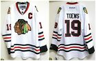 Authentic Chicago Blackhawks #19 Jonathan Toews White NHL Premier Jersey XXL