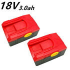 2 X REPLACE BATTERY for SNAP-ON 18V CTB6187 CTB6185 CTB4187 LG cells UK STOCK