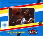 2011-12 (2012) Upper Deck Fleer Retro Basketball Hobby Box -6 Autographs Per Box