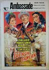 PRICE SLASHED 1955 BELGIAN LB FRENCH CANCAN GREAT ART WITH JEAN RENOIR