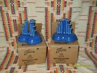 2 POST '86 LAPIS LIMITED EDITION PYRAMID CANDLESTICKS- 502/600 FIESTAWARE -NIB