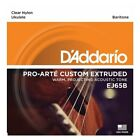 DAddario EJ65B Pro Art Custom Extruded Baritone Ukulele Strings Set