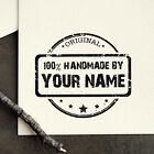 Personalized Custom Made Handemade Crafted Created by Rubber Stamp R430