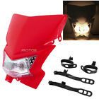 Red Streetfighter Headlight Fairing Fit Honda CRF50F CRF70F CRF80F CRF100F