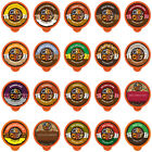 Crazy Cups Flavored Coffee Single Serve for Keurig K Cups Brewer Variety Pack20