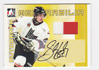 2005-06 ITG Sidney Crosby Series 2003 CHL Canada-Russia Challenge Jersey auto