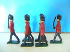 Lead Soldiers British Coldstream Guards Hand Painted x6