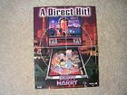 Dirty Harry Pinball Machine Sales Flyer  New Old Stock