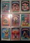1985 GARBAGE PAIL KIDS Complete 1ST SERIES  GLOSSY 82 cards + mattes/duplicates