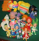 Lot of 19 Assorted Rainbow Brite Toys and Dolls
