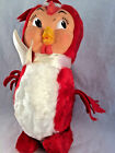 RARE Vintage RUSHTON Rubber face Original Bird Animal Plush Stuffed felt feather