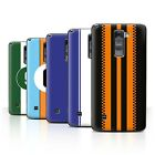 STUFF4 Phone Case/Back Cover for LG Stylo 2 LS775 /Racing Car Stripes
