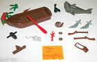 LEGO Pirate PARROT Shark Boat Oars Rifle minifigure parts whip coins Scorpion