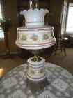 Vintage GWTW Hurricane Parlor 3 Way Lamp 24 Tall