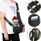 Pet Sling Carrier Bag Tote Carry Strap Dog Cat Puppy Pouch Travel S M L Black