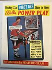 BOBBY ORR POWER PLAY-- BALLY PINBALL PROMOTIONAL SALES FLYER -1970's