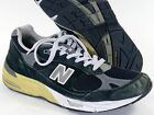 New Balance 991 Mens 105 D Black Made in USA suede grey 990 992 993 M991BK