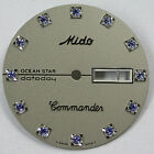 NEW ! ORIGINAL MIDO COMMANDER 8479  DIAL WITH CRYSTAL FREE SHIPPING