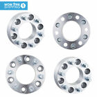 4x2 Wheel Spacers adapter 6x135 14x2 Studs Fits Ford F 150 Navigator Expedition