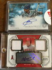 2012 Topp Museum Collection Mark Trumbo Auto 2x relic GU jersey 250 swatches