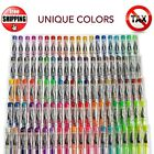 100 Gel Pens Set Glitter Metallic Neon Individual Colors for Adult Coloring