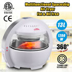 1200W 13L Low Fat Air Fryer Oil Free Far Infrared 3D Heating for Roast Grill BBQ