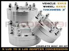 4 Pc 5x45 5x1143 MM To 6x55 6x1397 MM Conversion Wheel Spacers 2 Thick