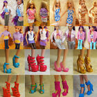 40 pair lot High Quality shoes For Barbie Doll Fashion Doll accessories hot
