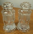 Gorham Crystal Hobnail  Feather Pattern Salt  Pepper Shakers NEW CONDITION