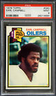 1979 Topps #390 Earl Campbell RC Rookie PSA 9 Mint