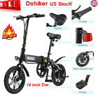 Folding Electric Bike Collapsible Moped Bicycle LED Headlight Three Riding Modes