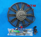 14 inch electric universal auto cooling radiator fan + Mounting kit