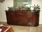 TIGER OAK 1800s  Era Buffet  Server Console  Hand Carved Quarter Sawn  Apprasial