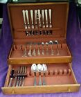 Gorham Sterling Silver FAIRFAX Flatware Service for 8 Set   53 Pieces