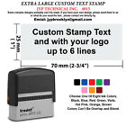 Extra Large Trodat 4915 Self inking Rubber Stamp Custom Text Up To 6 Lines
