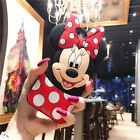 Cute 3D Cartoon Mickey Mouse Silicone Phone Case Cover For Apple iPhone Samsung
