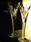 Waterford Crystal Lismore Classic Toasting  Flutes/ Set of 2, Brand New in Box