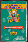1993 UPPER DECK FUN PACK BASEBALL BOX