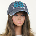 Snapback Baseball Vintage Cotton Basic AC Cap Jean Hip Hop K Pop Style Urban Hat