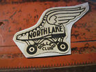 RARE 55 SILK PATCH FROM NORTH LAKE ROLLER CLUB IN NORTH LAKE MICHIGAN