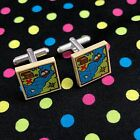 Pirate Treasure Map Cufflinks...Handmade using LEGO® parts